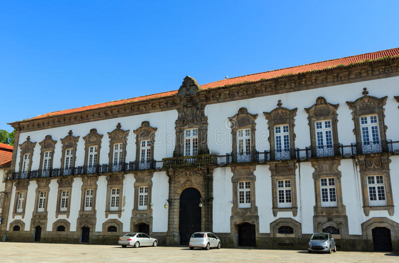 Bisschoppelijk Paleis in Porto, Portugal royalty-vrije stock afbeelding