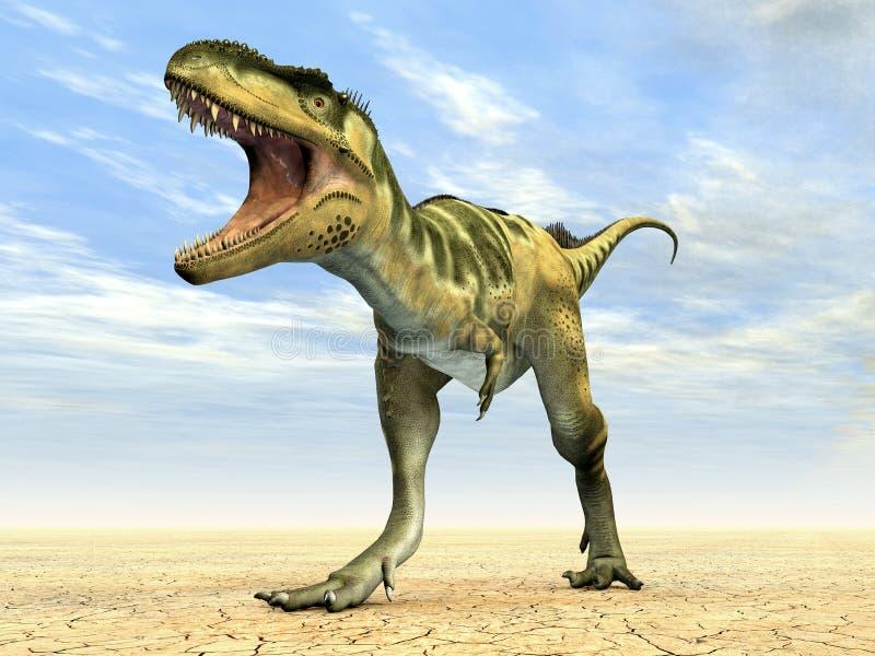 Download Dinosaur Bistahieversor stock illustration. Illustration of gigantic - 29769472