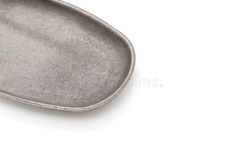 Bistecca della casseruola (piastra riscaldante) immagine stock