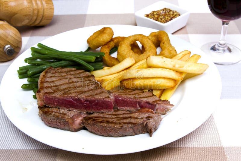 Download Bistecca di scamone immagine stock. Immagine di ingrediente - 56886289