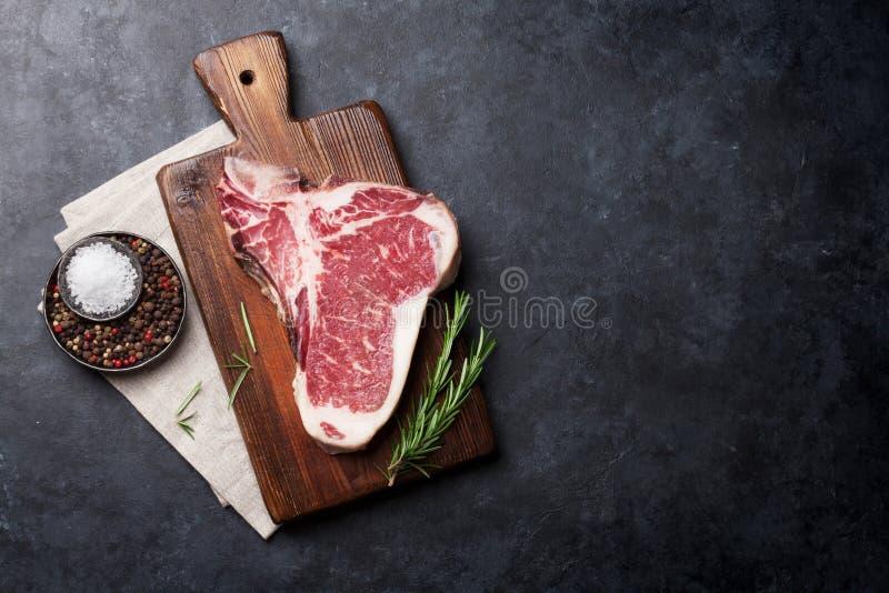 Bistecca nella lombata immagini stock libere da diritti