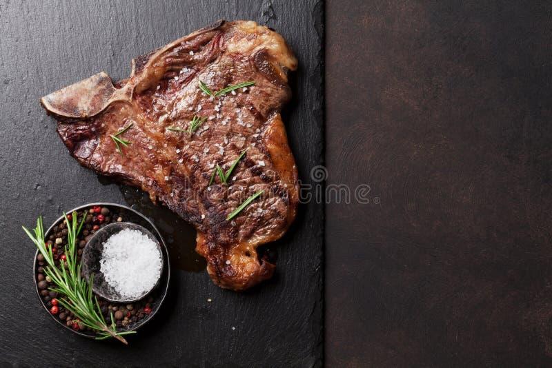 Bistecca nella lombata fotografie stock libere da diritti