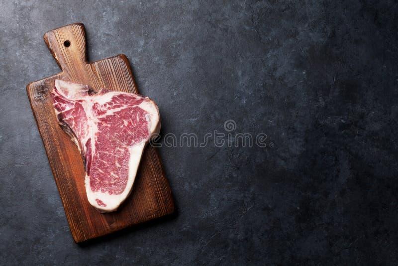 Bistecca nella lombata fotografia stock libera da diritti
