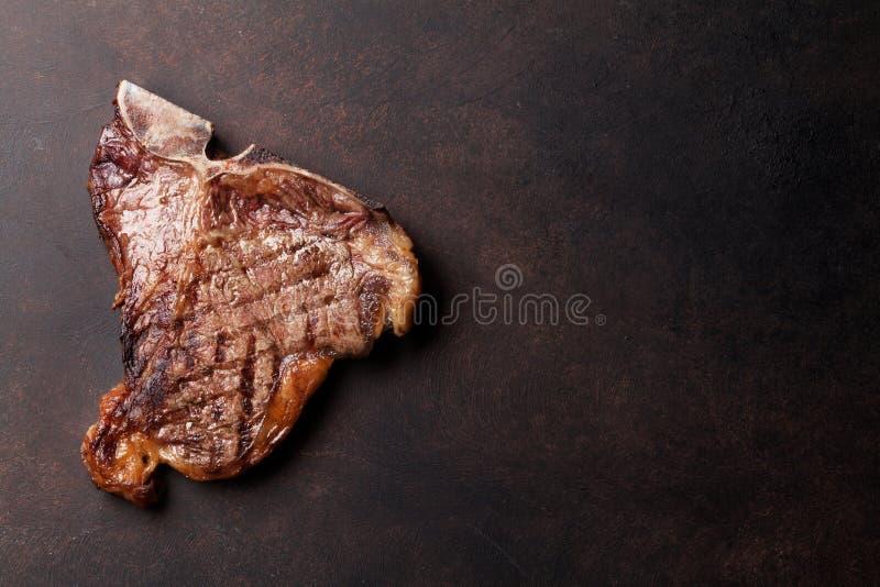 Bistecca nella lombata fotografie stock