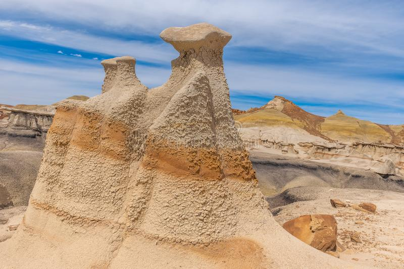 Bisti/De-Na-Zin Wilderness Area, New Mexico. USA stock photography