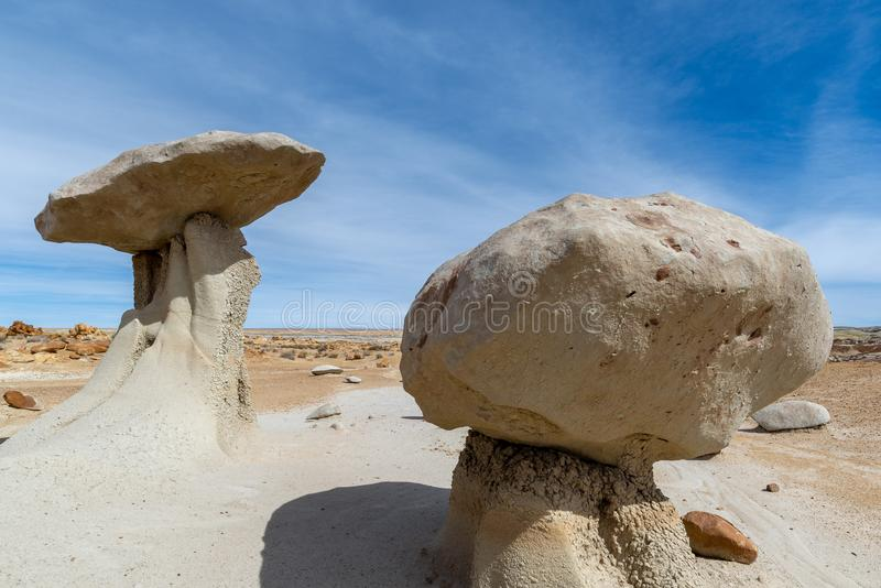 Bisti/De-Na-Zin Wilderness Area, New Mexico. USA stock photo