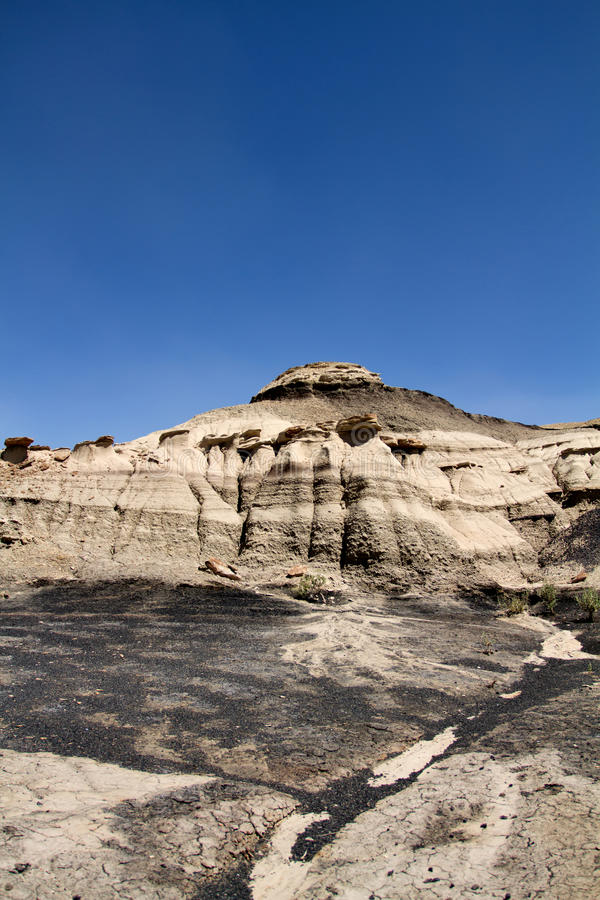 Download Bisti Wilderness area stock photo. Image of formation - 15688420