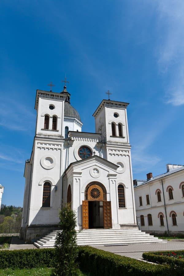 bistrita monaster Romania zdjęcie royalty free