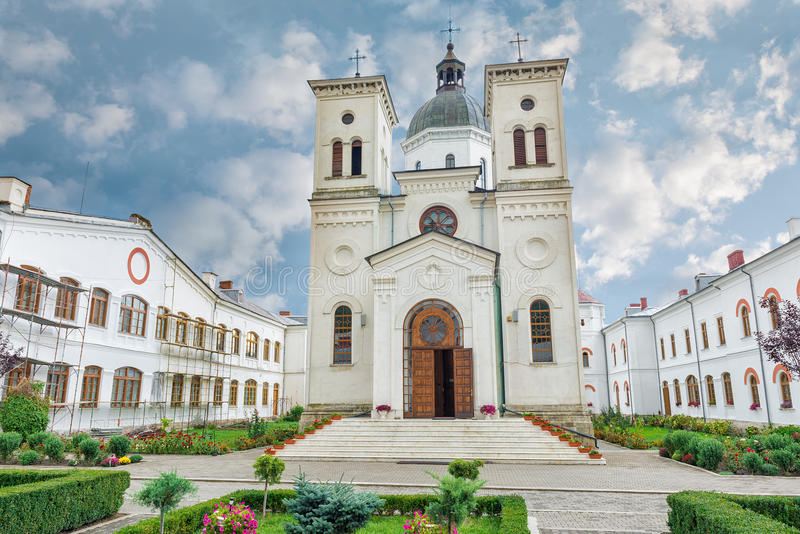 Bistrita Monastery from Costesti Valcea, Romania. Bistrita Monastery from Valcea was initially build between 1492 and 1494 by the Craiovesti boyars, it was stock images