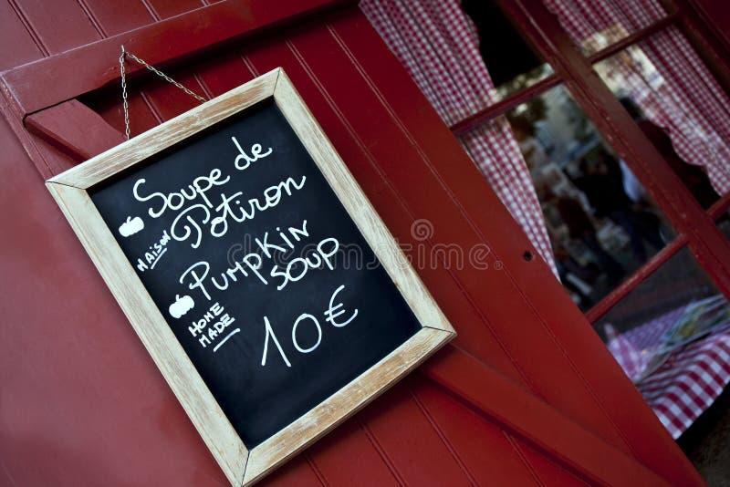 Bistro in Frankrijk royalty-vrije stock fotografie