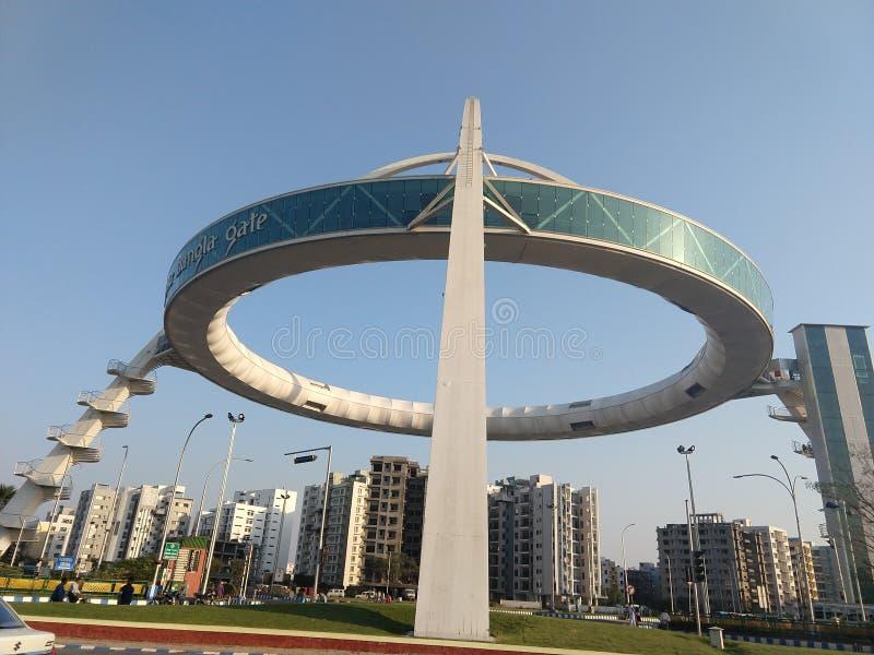 Biswa Bangla Gate Kolkata New Town Editorial Image - Image ...