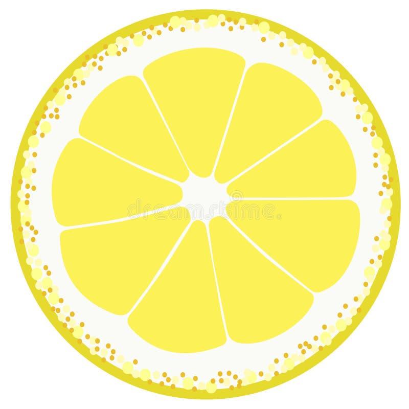 Bit del limone illustrazione di stock