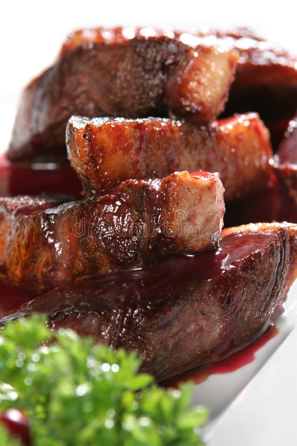 Download Bit Of The Duck With Vegetable Stock Photo - Image of snack, sauce: 2304824