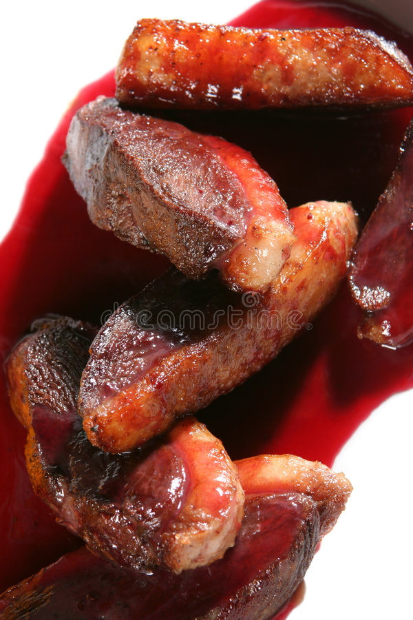 Download Bit Of The Duck With Vegetable Stock Photo - Image: 2304826