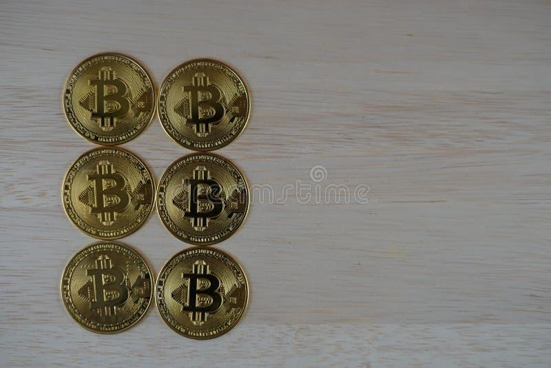 Bit-Münzbild virtuelle Währung stockbild