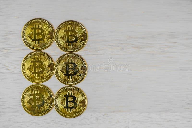Bit-Münzbild virtuelle Währung lizenzfreies stockfoto