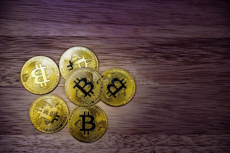 Bit-Münzbild virtuelle Währung stockbilder