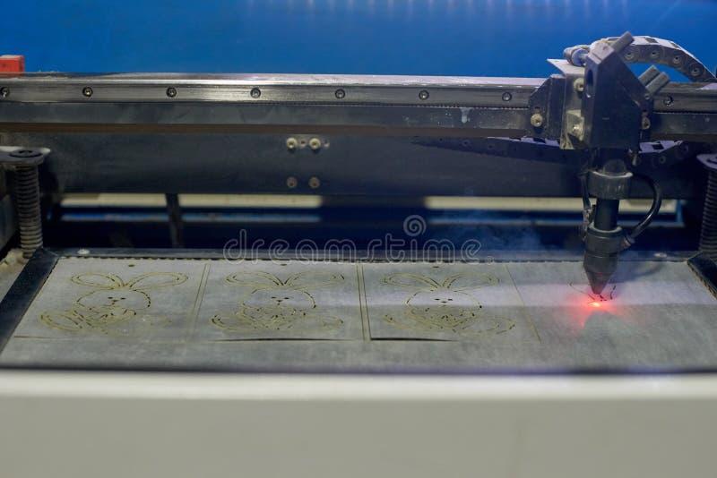 Bitande maskin för laser royaltyfri foto