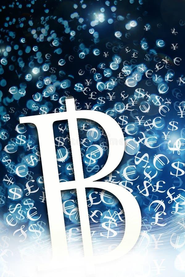 Bitcoin例证 库存例证