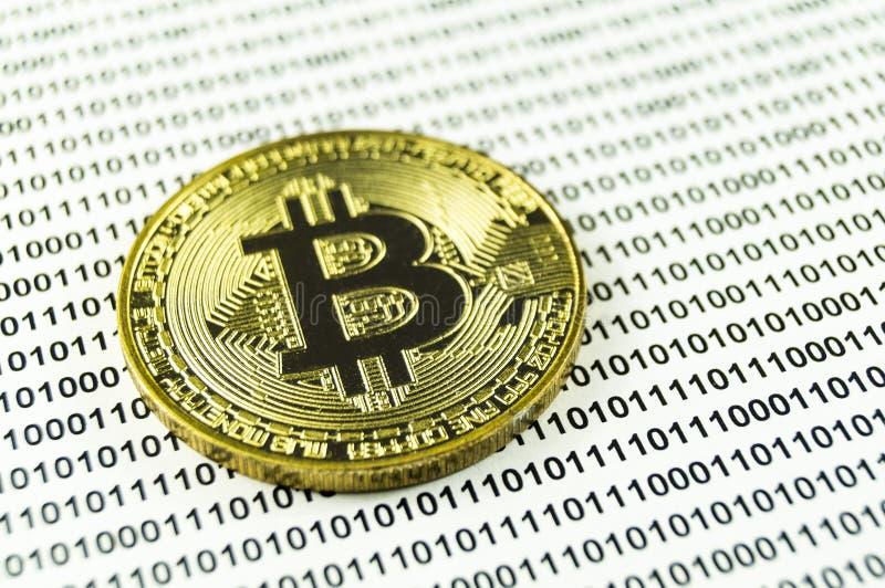 Bitcoin è un modo moderno dello scambio e di questa valuta cripto fotografie stock