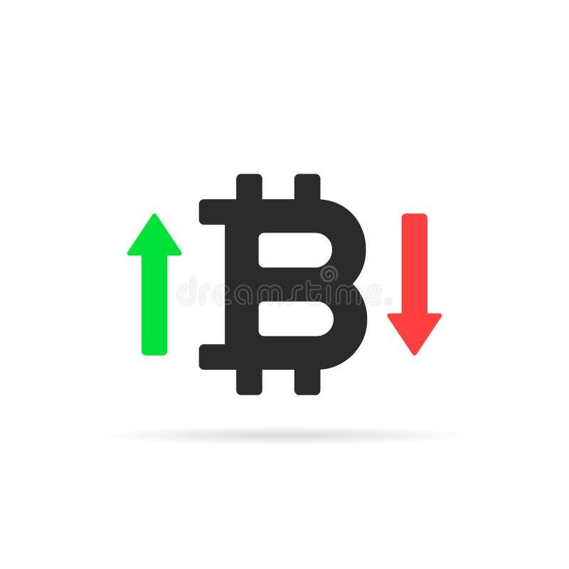 Bitcoin классифицирует значок изолированный на белизне бесплатная иллюстрация