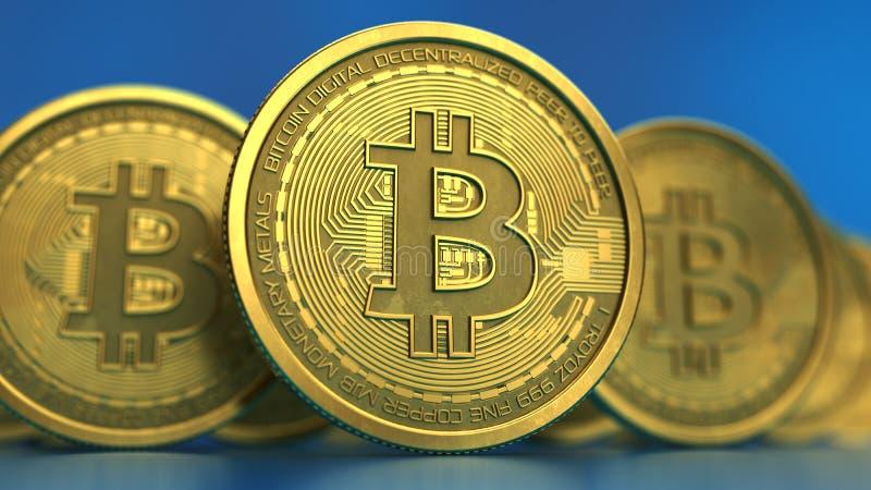 Bitcoin illustration libre de droits