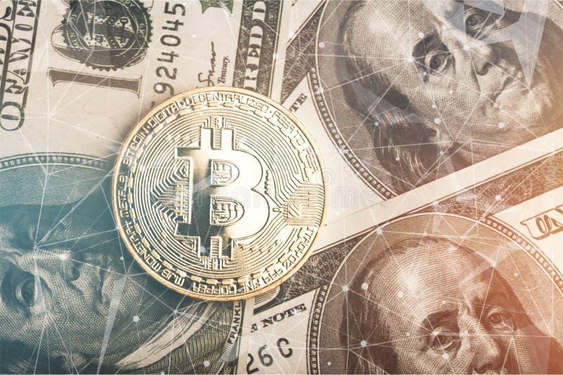 Bitcoin στοκ εικόνα με δικαίωμα ελεύθερης χρήσης