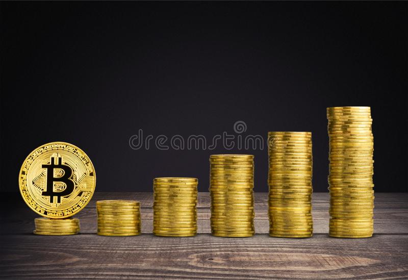 Bitcoin images stock