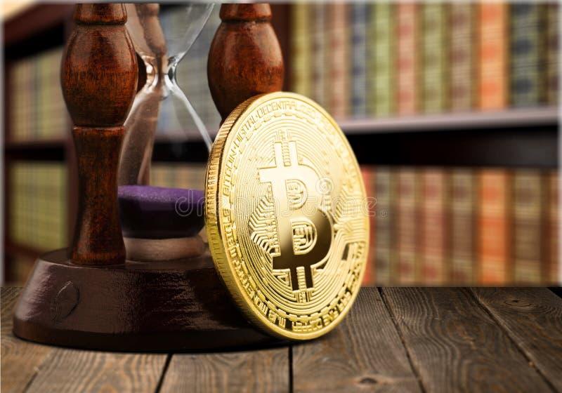 Bitcoin στοκ φωτογραφία με δικαίωμα ελεύθερης χρήσης