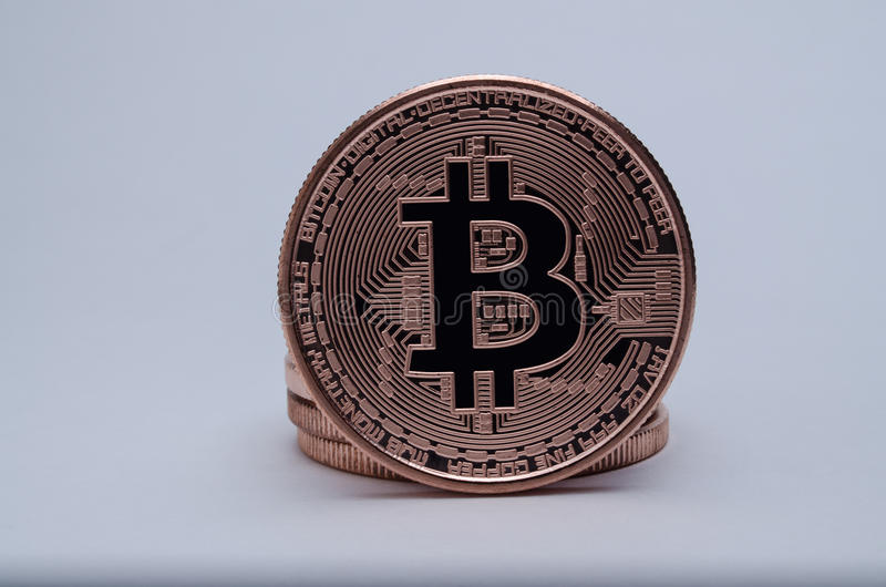 Bitcoin стоковое изображение rf