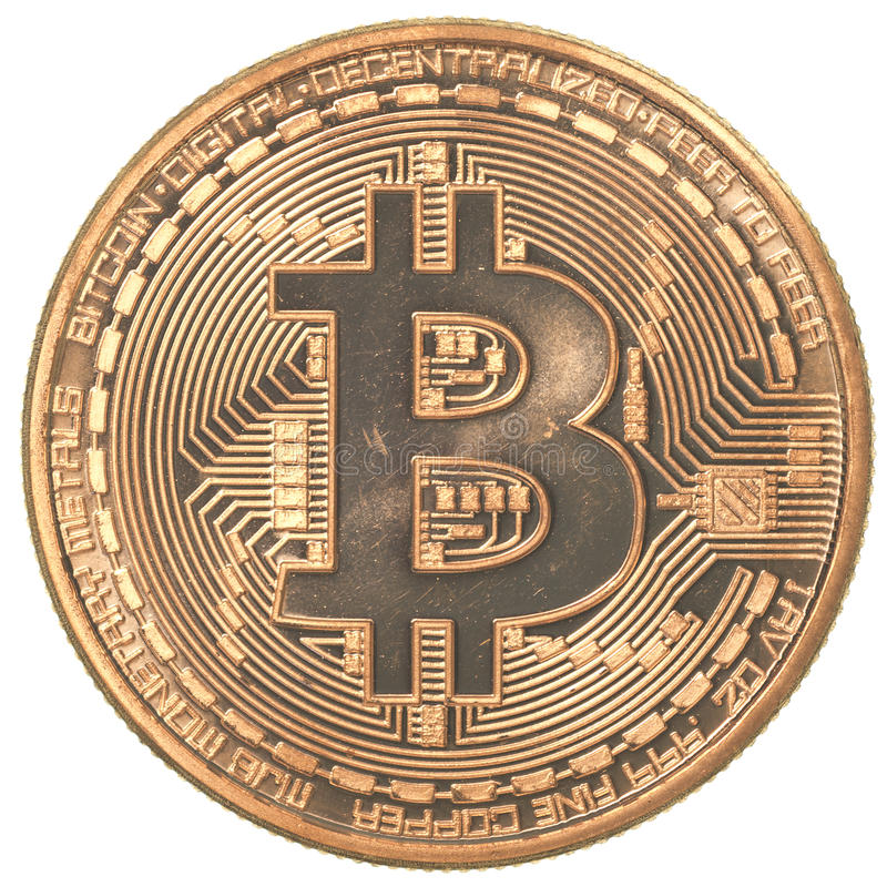 Bitcoin royaltyfri foto
