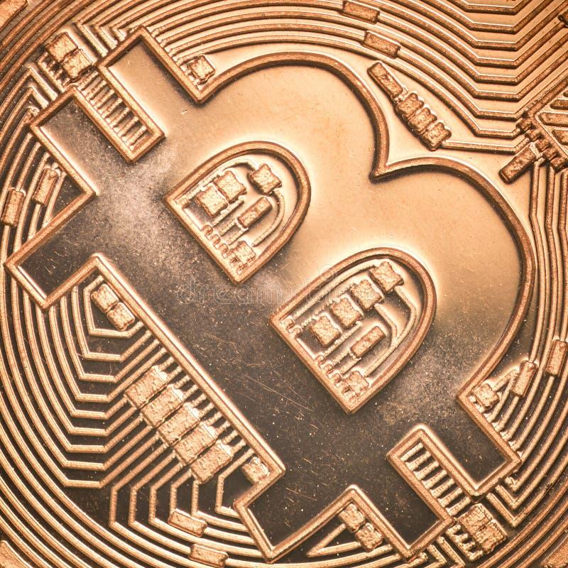 Bitcoin fotografie stock libere da diritti
