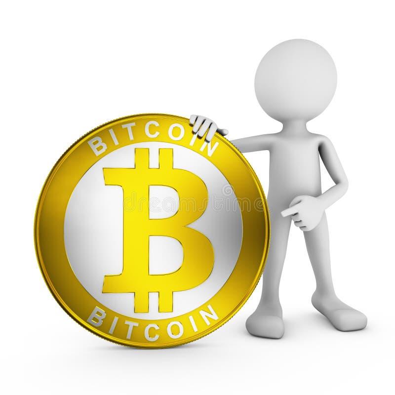 Bitcoin stock de ilustración