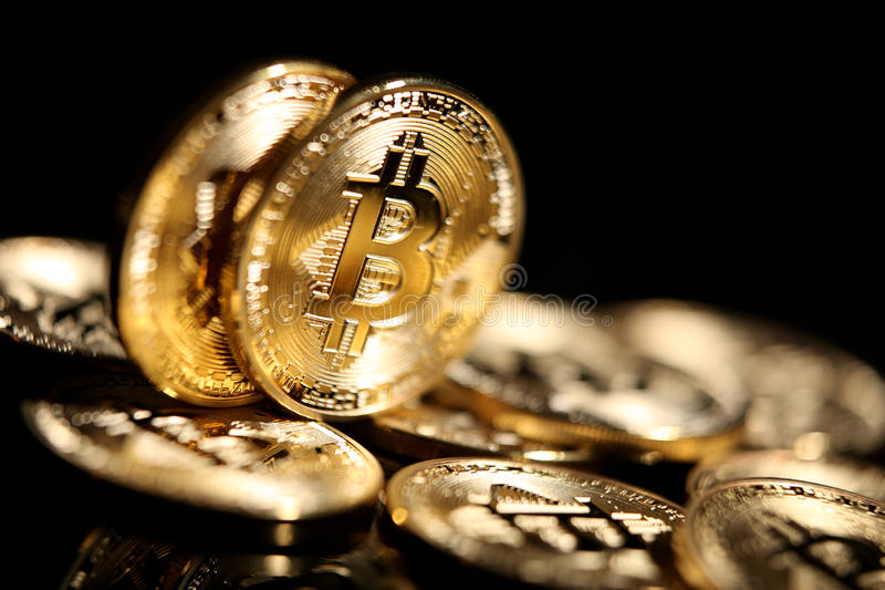 Bitcoin photographie stock
