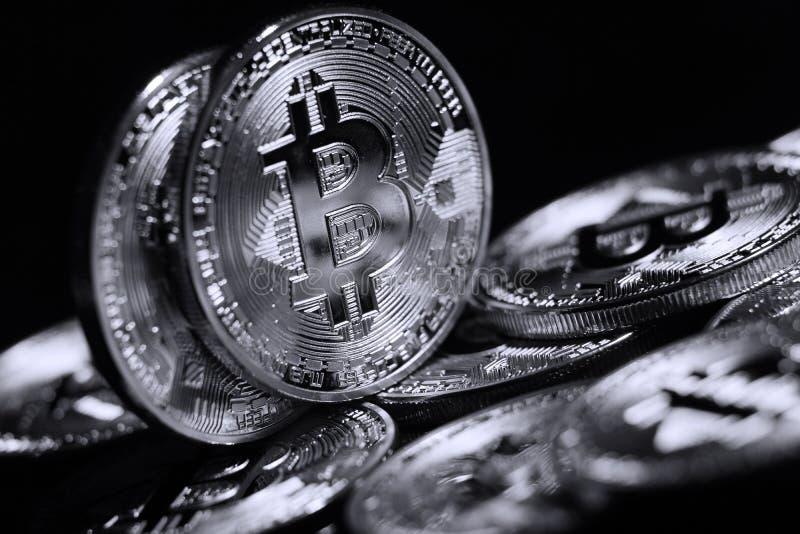 Bitcoin fotografía de archivo libre de regalías