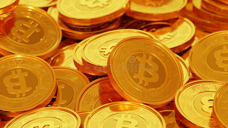 Bitcoin photo libre de droits