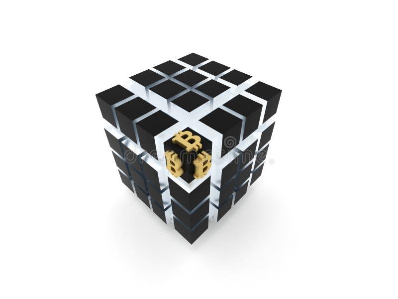 Bitcoin 库存例证