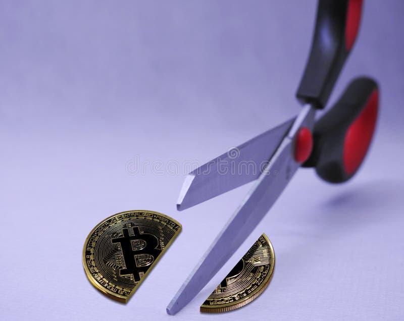 Bitcoin B2X partido imagen de archivo