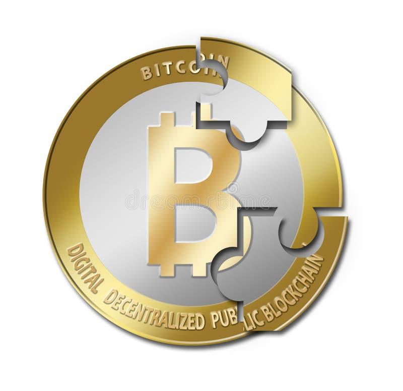 Bitcoin crypto waluta zdjęcie stock