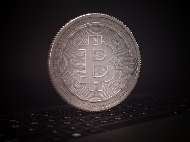 Bitcoin cryptocurrency 免版税库存照片