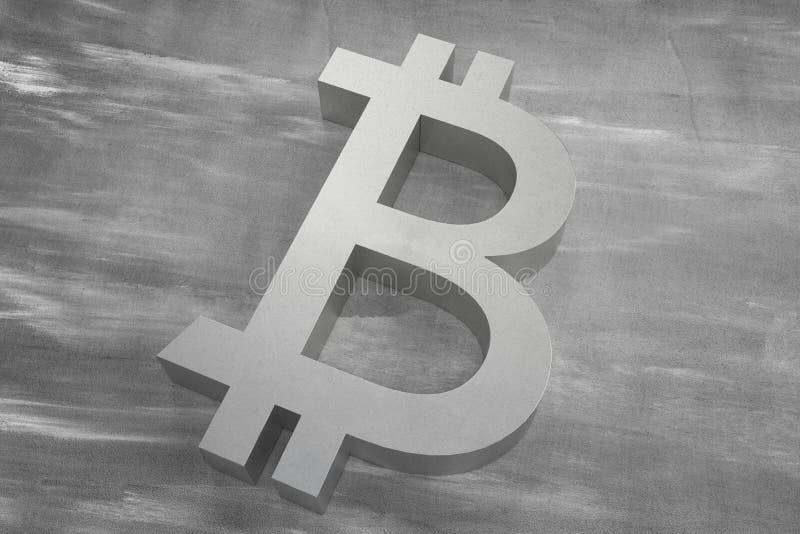 Bitcoin cryptocurrency. Closeup symbol. Internet money background. 3d illustration. Bitcoin cryptocurrency. Closeup symbol. Internet money background. 3d render vector illustration