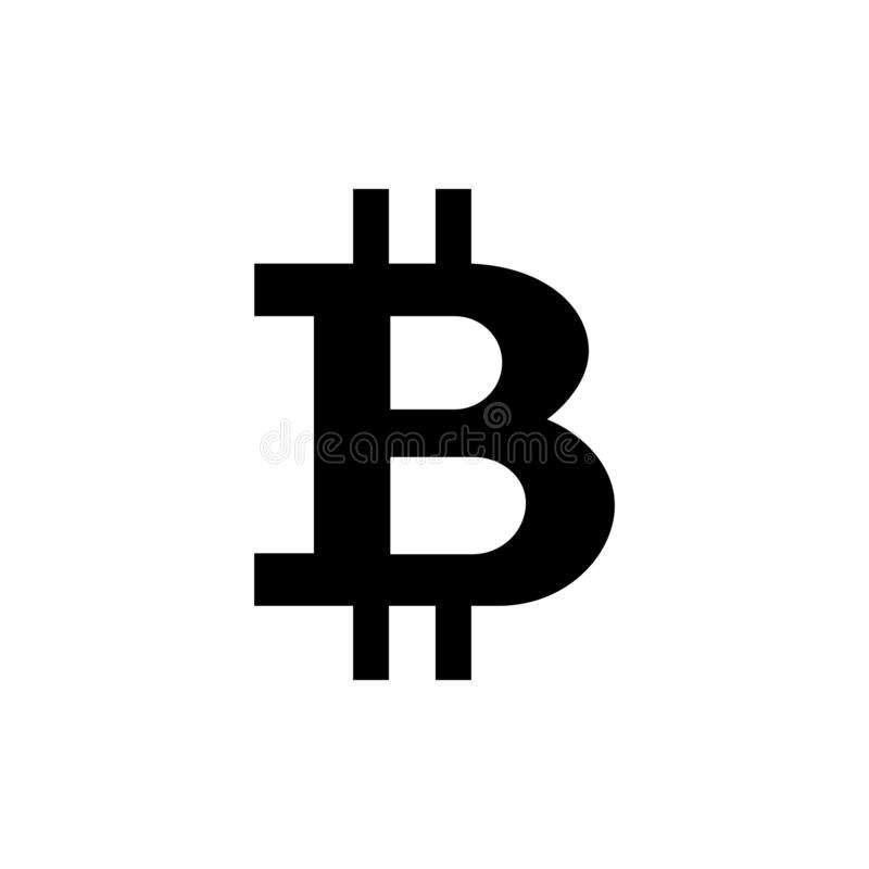 Bitcoin cryptocurrencysymbol royaltyfria foton