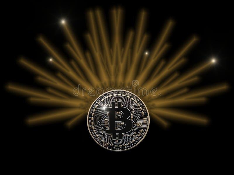 Bitcoin divino libre illustration