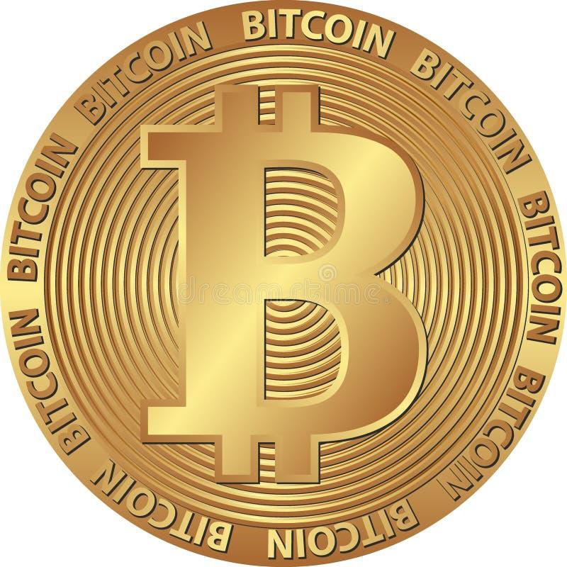 Bitcoin royalty-vrije illustratie