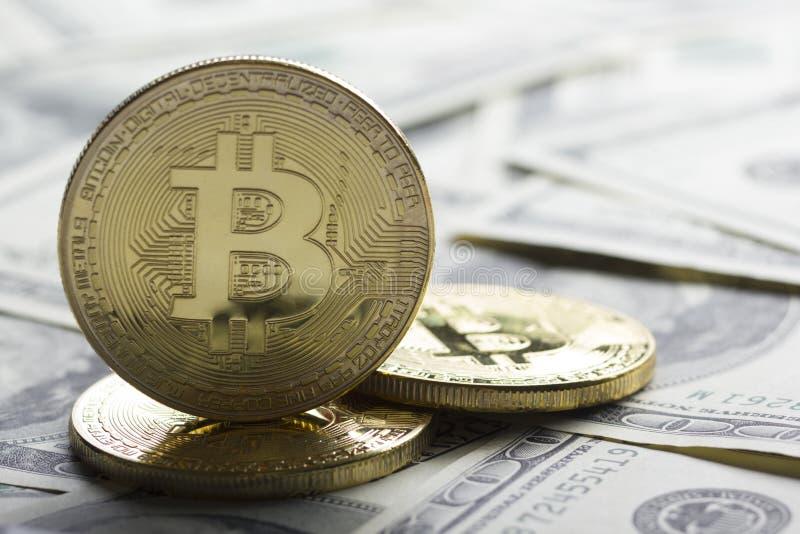 Bitcoin gold coin. Cryptocurrency concept. Virtual currency background. Bitcoin gold coin. Cryptocurrency concept. Virtual currency background stock photos