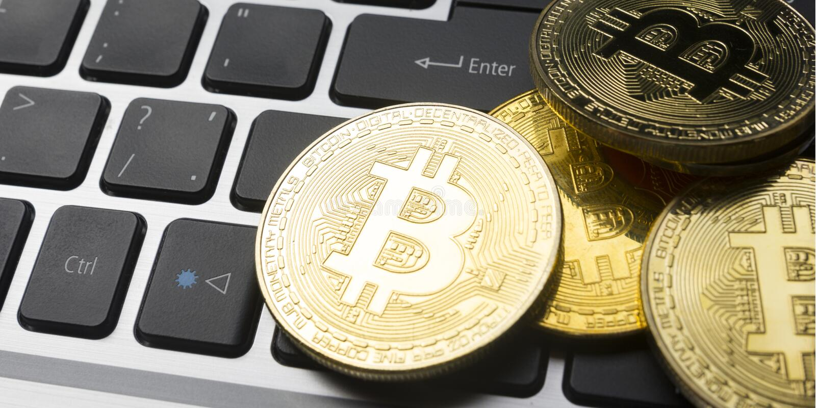 Bitcoin gold coin. Cryptocurrency concept. Virtual currency background. Bitcoin gold coin. Cryptocurrency concept. Virtual currency background royalty free stock photo