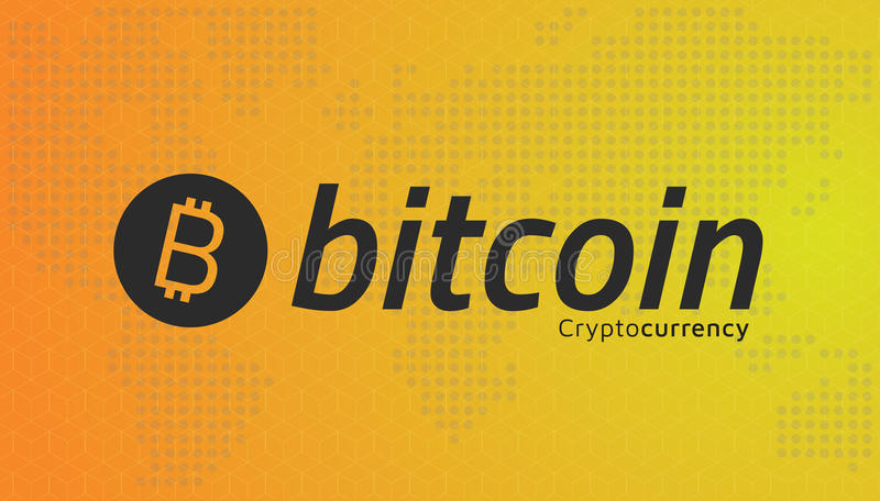 Download Bitcoin Logo And Dotted World Map Editable Eps10 Vector Stock