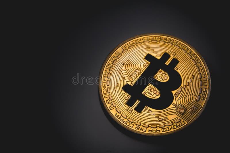 Bitcoin logo royalty free stock photography
