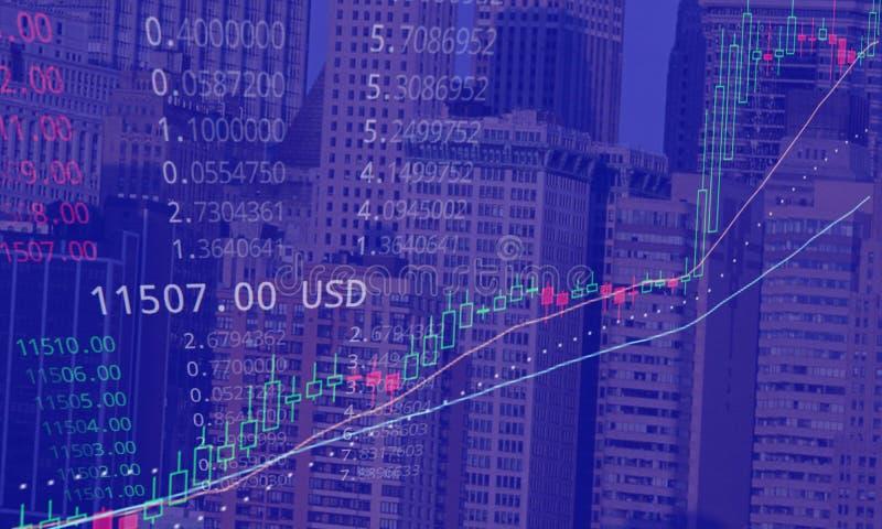 Bitcoin når 11507 USD vektor illustrationer