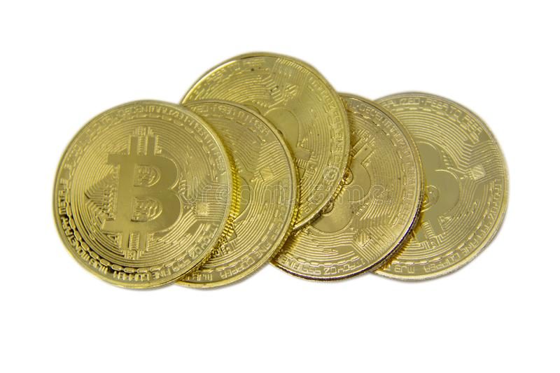 Bitcoin. New way of business bitcoin currency is payment in global business market. royalty free stock photos